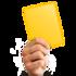 Предупреждение Жёлтая карточка