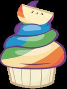 воль-яблочная пироженка