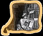 Библиотекарь|Выдается за написание интересной информации, древних свитков и других материалов по игре.