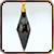Серьги из Черного кристалла|Частица искусственно созданного камня, аккумулирующего магическую энергию